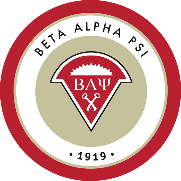 beta alpha psi logo sdsu